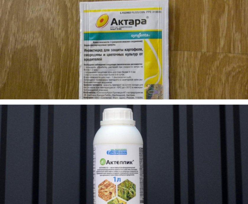 Препараты для защиты от болезней и вредителей