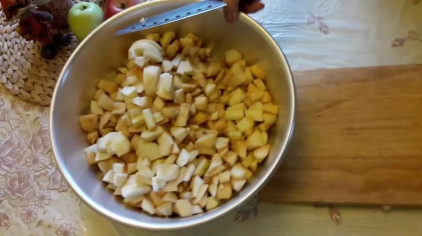 Варенье из тертых яблок с лимоном