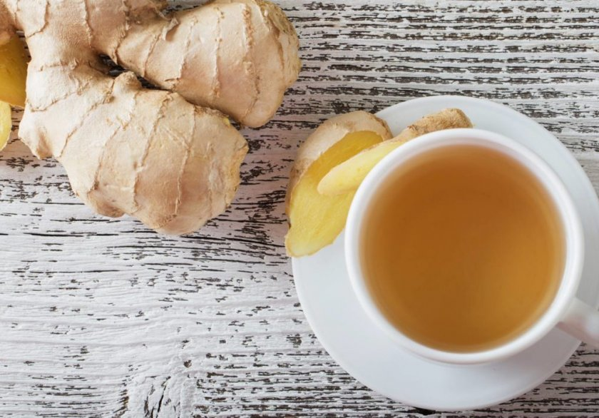 Имбирный чай при отравлениях