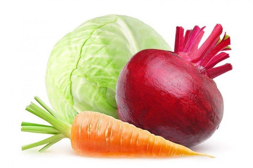 Салат из капусты с корнеплодами
