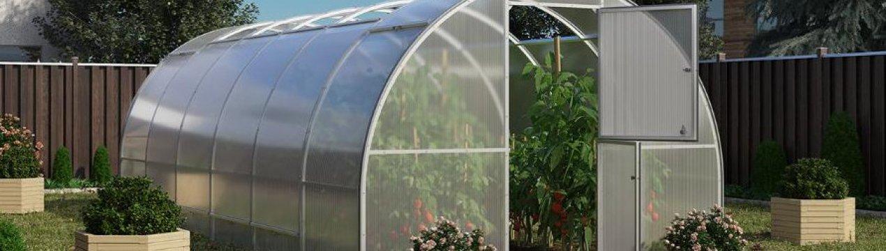 лендинг теплицы с раздвижной крышей