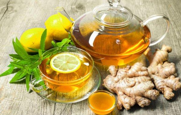 Зеленый чай с имбирем и лимоном польза и вред
