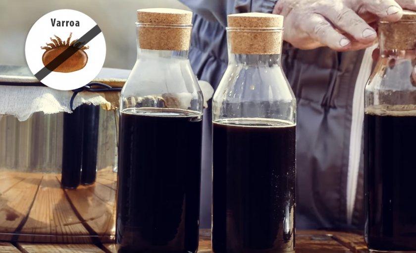 Обработка пчёл препаратом КАС-81