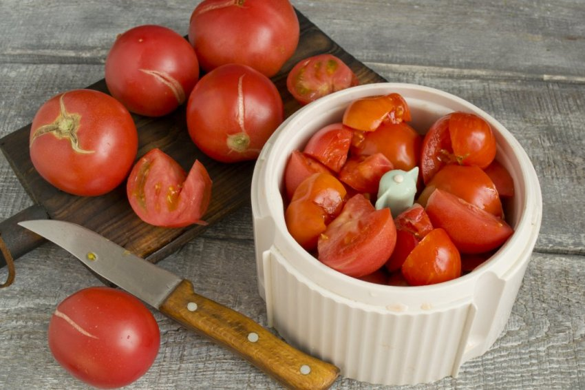Помидоры для сливового кетчупа