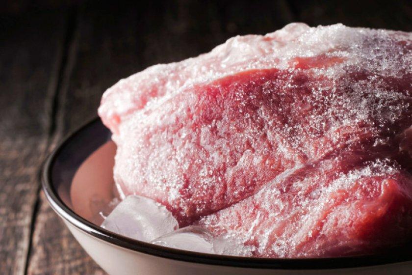 Хранение гусиного мяса