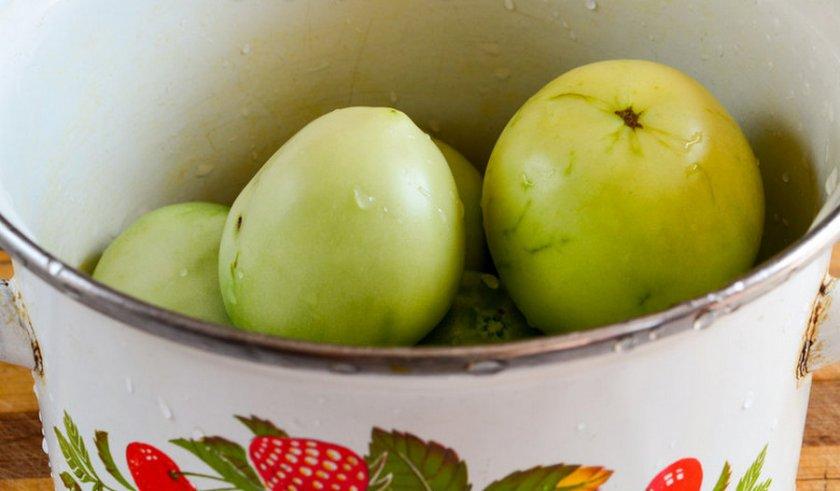 Засолка томатов без воды
