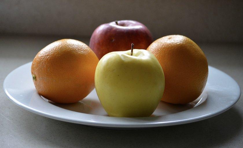 Яблоки и апельсины для консервации