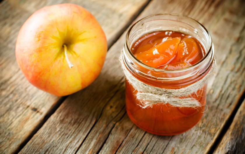 Яблочное варенье с апельсином и корицей рецепт с фото