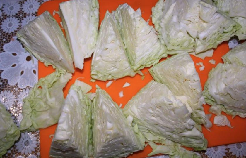 Заготовки из капусты на зиму золотые