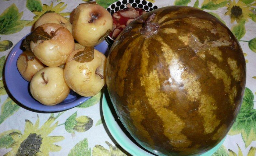 Моченый арбуз