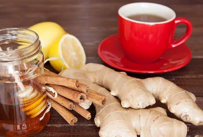 Имбирный чай с добавками