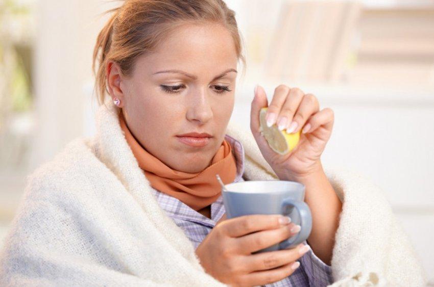Применение имбиря при простуде