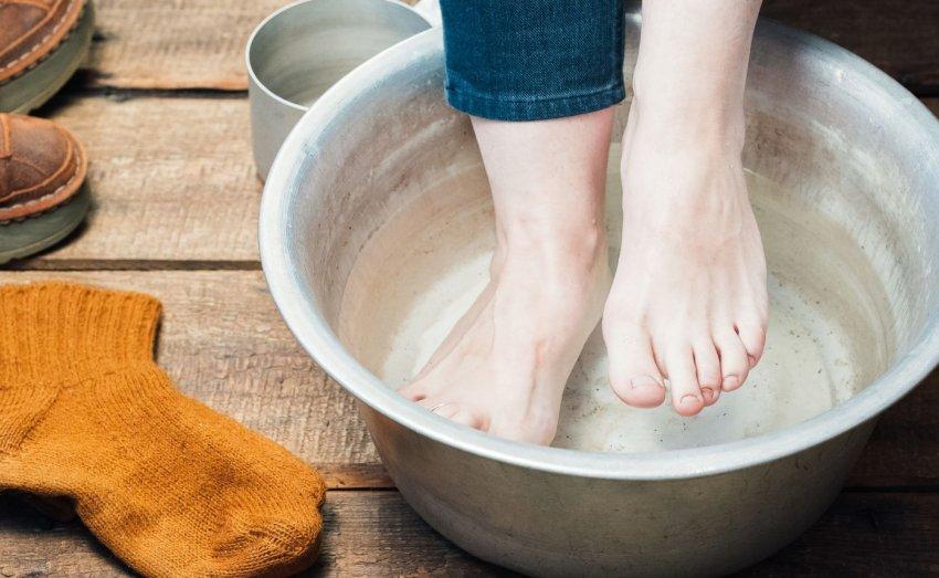 Согревающие ванночки для ног