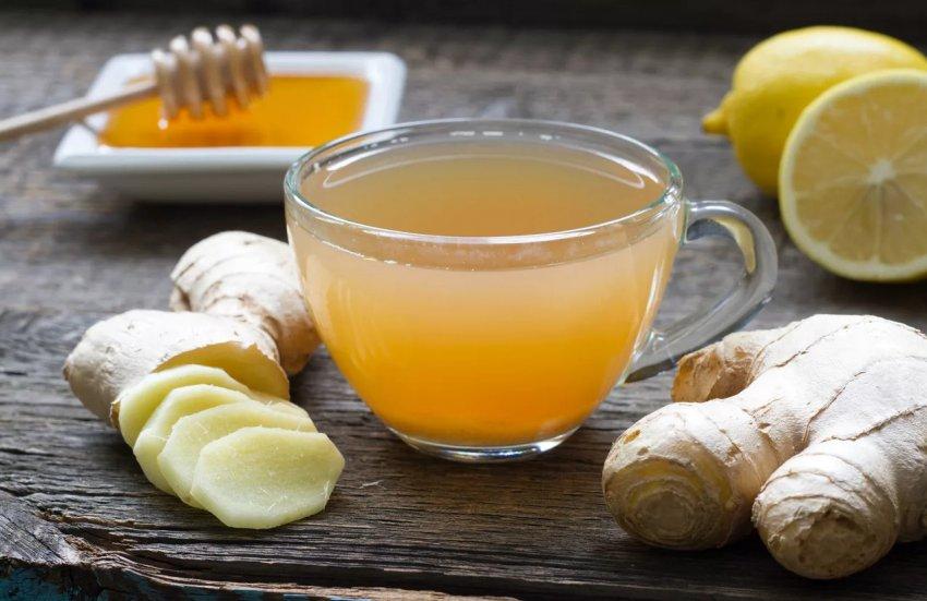 Имбирно-медовой коктейль
