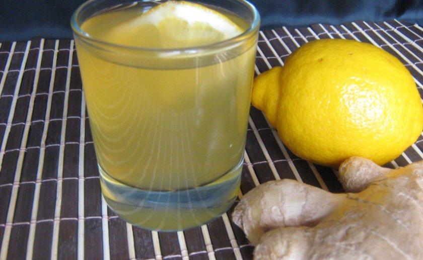 Имбирно-лимонная настойка