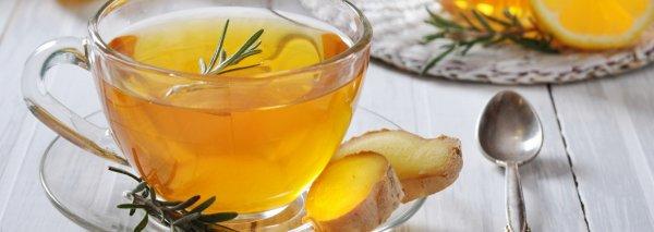 Как заварить имбирный чай с лимоном