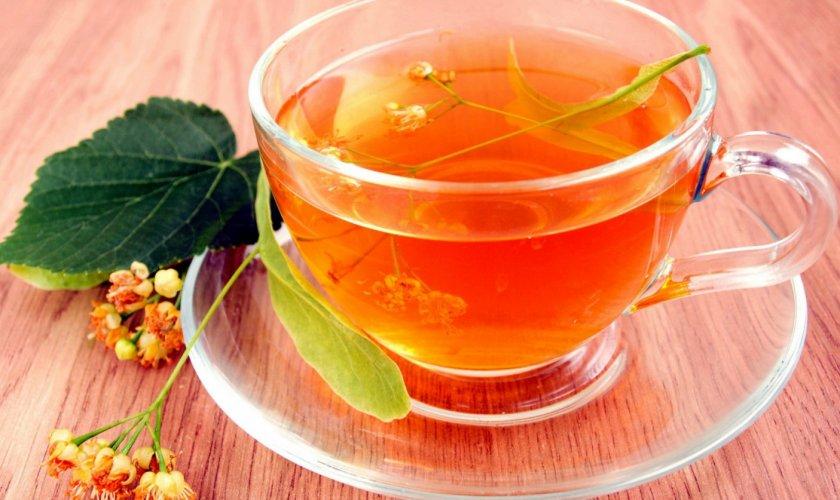 Малиново-липовый чай