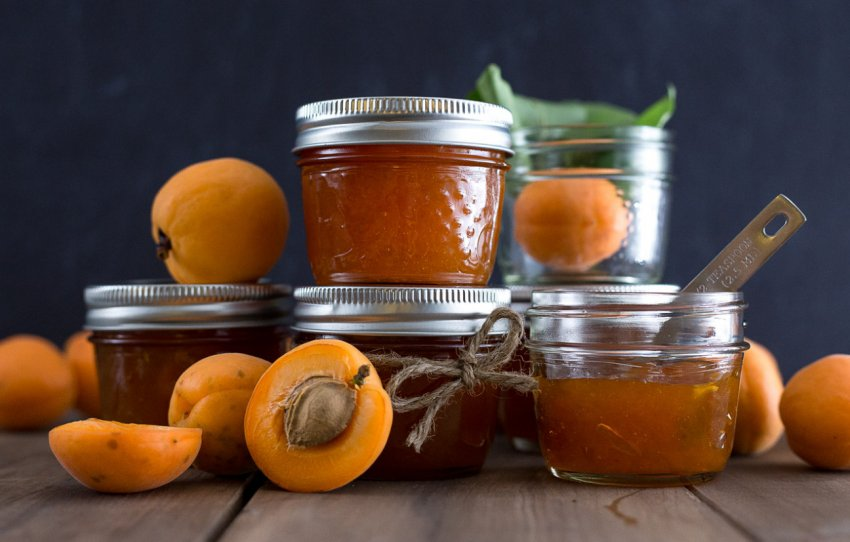 Хранение абрикосового варенья