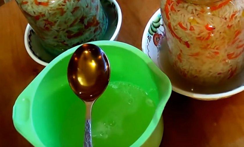 Квашеная капуста с медом: рецепт с фото пошагово