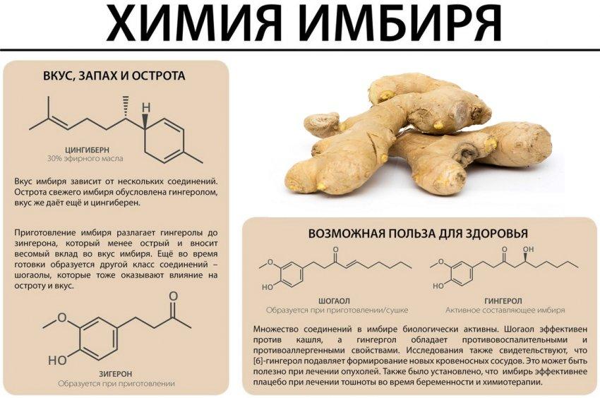 Химия имбиря
