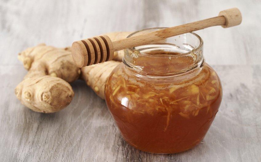 Имбирный отвар с мёдом
