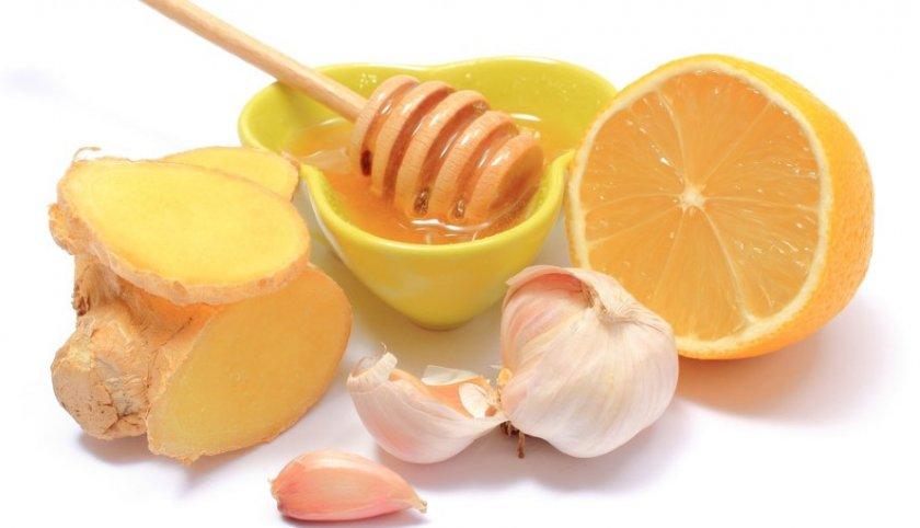 Диета с применением имбиря, чеснока и лимона