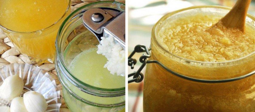Мед с чесноком похудение