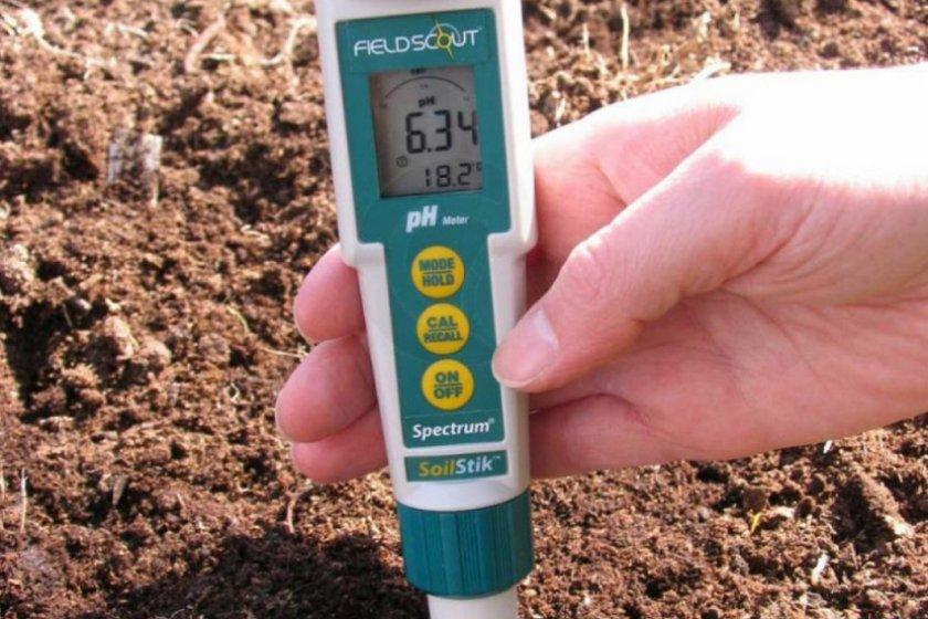 Прибор-тестер для выявление кислотности почвы