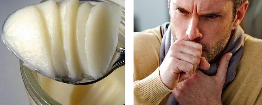 Бараний жир от кашля