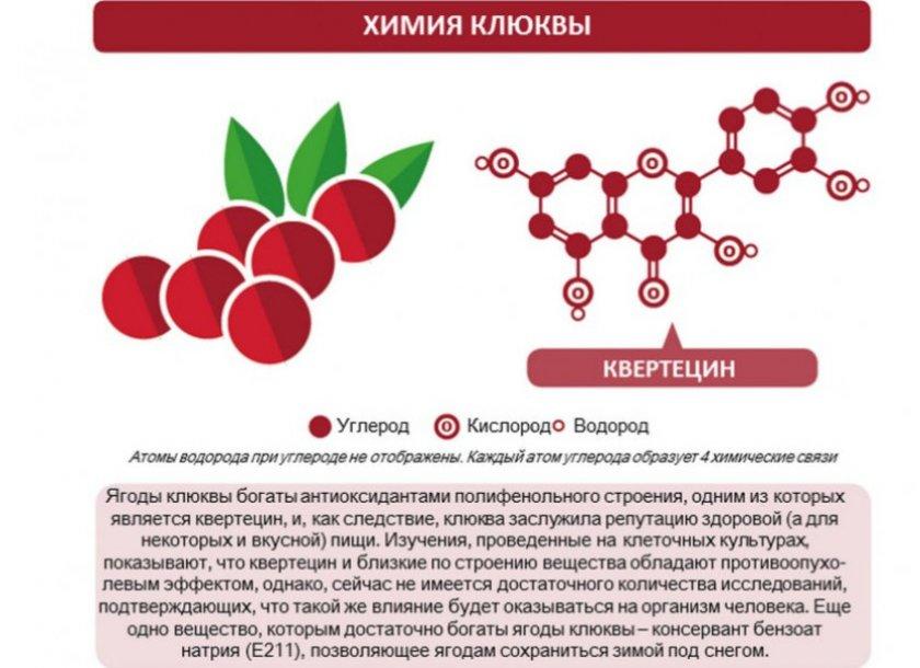 Химия клюквы