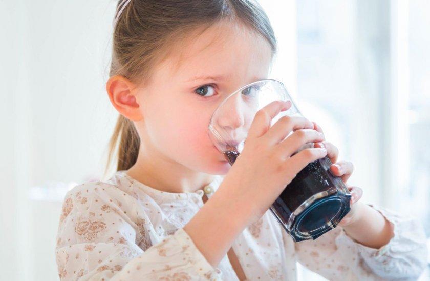 Смородиновый сок для детей