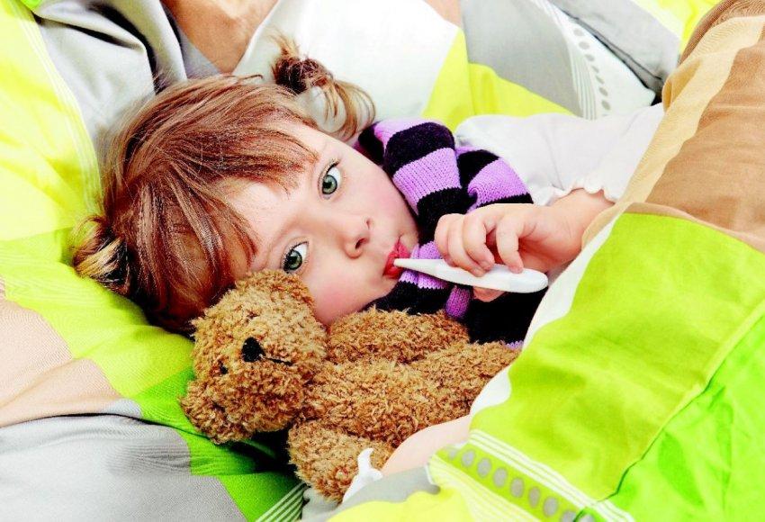 Клюква при детской простуде