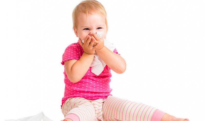 Первые симптомы аллергической реакции